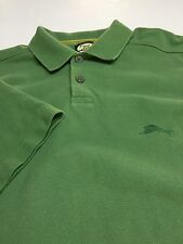 Tommy Bahama Men's -Size M (Relax)- 100% Cotton Green SS Shirt w/ Woven Collar