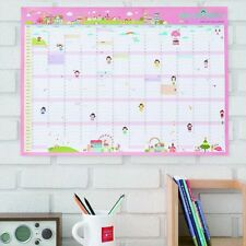 2017 Calendar Wall Planner Daily Schedule Office Supplies Home Décor Useful LDH