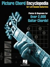 Picture Chord Encyclopedia for Left-Handed Guitarists - Photos & Diagr 000695693