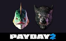 PAYDAY 2 Humble Bundle Mask Pack 2 (Halloween Masks) Steam key (Digital product)