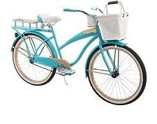 "HUFFY CRUISER BIKE 26"" TEAL BLUE WOMEN'S COMFORT CITY BEACH COMMUTER BICYCLE NEW"