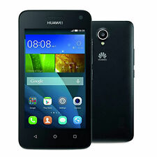 New Huawei Y3 Black Y360 - SIM Free Unlocked 3G Smartphone 5MP Android F/Camera