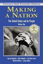 Making a Nation: The United States and Its People, Vol. 1, Concise Edition-wCD