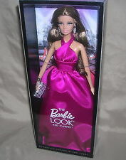 NEW 2013 The Barbie Look RED CARPET MAGENTA Gown Black Label #BDH28 NRFB