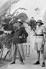 WW2 - Le Général de Larminat et le Colonel Leclerc en Afrique