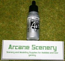 Vallejo Model Air SILVER 71063  Acrylic Airbrush Paint 17mls