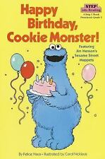Happy Birthday, Cookie Monster (Step into Reading)