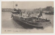 Dieppe, Le Sussex dans l'avant-Port LL 93 Postcard, B253