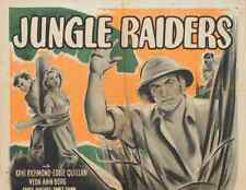 JUNGLE RAIDERS, 15 CHAPTER SERIAL, 1944