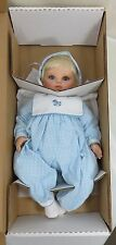 """Downi Creations Down Syndrome Special Needs Doll Timothy Vinyl Soft Body 19"""" NEW"""