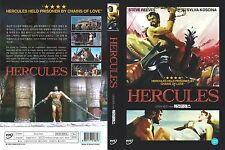 Hercules And The Queen Of Lydia,1959 (DVD,All,Sealed,New) Steve Reeves