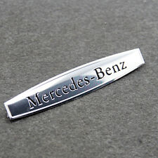 for Mercedes-Benz C E CLS63 SLK55 Trunk Car sticker Fender emblem badge Silver