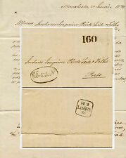 GB to PORTUGAL 1870 LETTER 160 ACCOUNTING + OVAL VERY FINE USED to PINTO LEITE
