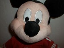 DISNEY MICKEY MOUSE NFL SAN FRANCISCO 49ers OUTFIT PLUSH ANIMAL/ NFL TAG F/SHIP