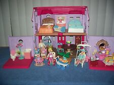 Fisher-Price Loving Family Manor Doll House Mom Dad Daughter Twin Baby Furniture