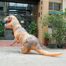 T-Rex DINOSAUR Inflatable Adult Costume TRex Costumes Halloween Party Dress-Gift