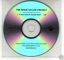 (F968) The Rosie Taylor Project, A Good Cafe on.- DJ CD