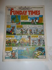 THE FUNDAY TIMES - No 2 - Date 17/09/1989 - Free Sunday Times Comic Supplement
