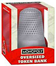 MONOPOLY OVERSIZED TOKEN BANK THE THIMBLE NEW IN BOX #sapr16-40