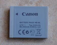 BATTERIA ORIGINALE nb6l Canon nb-6l per IXUS 85 95 105 200 210 300 310 s95 d10