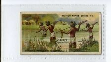 (Jv625-100) Players,British Empire Series,Aboriginals Spearing Fish,1904 #13