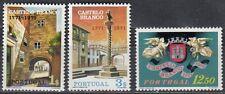 Portugal Nr. 1143-1145** 200.Jahrestag Stadtrecht von Castelo Branco