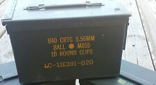 (1)50 Cal Ammo Can Box *Military issued*
