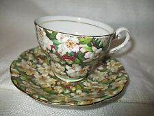 ROYAL STANDARD Peach Tree Bone China Cup & Saucer