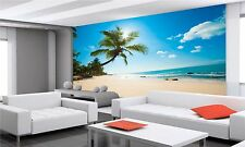 UNTOUCHED TROPICAL BEACH WARM Wall Mural Photo Wallpaper GIANT WALL DECOR