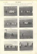 1901 Rugby Match Between Oxford And Cambridge Maxine Elliot