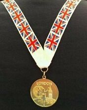 Olympic Style London 2012 Gold Medal with Lanyard - Olympics Memorabilia (MI3)