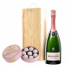 Bollinger Rose & Pink Charbonnel Chocolates Box
