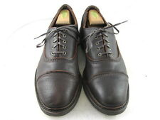 "Allen Edmonds ""OVERLORD"" Oxfords 9.5 D  Brown   (732)"