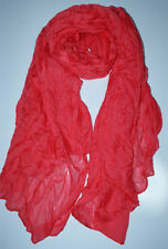 Lovely Women's Candy Long Crinkle Soft Scarf Wrap Voile Wraps Shawl 08 Style