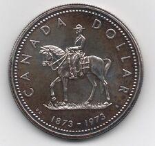 Kanada, 1 Dollar 1973, Schön-Katalog Nr. 79, Offizier zu Pferde, PP,500er Silber