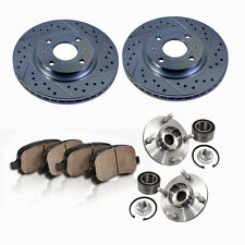 Front Brake Rotors and Hub Bearings & Ceramic Pads FORD ESCAPE MARINER TRIBUTE