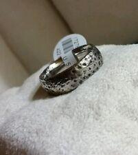 Mens Scott Kay Artiste Brute Cobalt BioBlu 27 wedding Oxidized Hammered ring$355