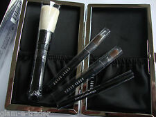 BOBBI BROWN Limited Edition Mini Brush Set x 4 BNIB & Case Genuine BNWT Ltd Ed