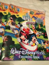 Walt Disney World OFFICIAL Adult or Childs Coloring Book NEW