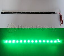 Tira 60 Led SMD 3528 120cm. Verde Waterproof coche, barco, acuario, agua...