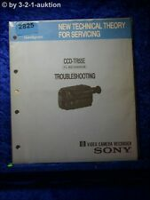 Sony Troubleshooting Manual CCD TR55E FL Mechanism (#2825)