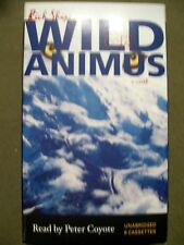 Wild Animus by Rich Shapero (2005, 8 Cassettes, Unabridged) Read by Peter Coyote