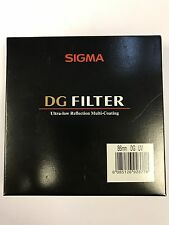 Sigma Filter 86mm DG UV Ultra-Low Reflection Multi-Coating Filter