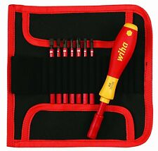 Wiha 28391 Insulated SlimLine Interchangeable Set Includes Handle with Pouch