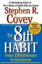 The 8th Habit : From Effectiveness to Greatness by Stephen R. Covey (2004, Ha...