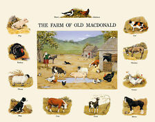 Melanie Cargill The Farm of Old MacDonald Poster Kunstdruck Bild 40x50cm