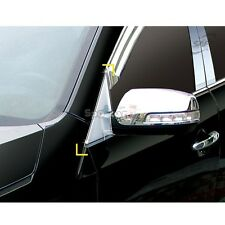 K-045 Car Chrome A-Pillar Cover Molding Guard for Kia Sorento R 2010-2014