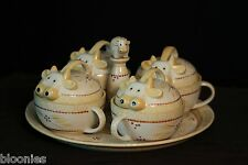 Temp-tations Old World Cow Coffee Coup Set Temptations