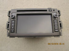 09 SATURN VUE XR 3.6L V6 SFI 4D SUV GPS NAVIGATION UNIT CD PLAYER P/N 20793152