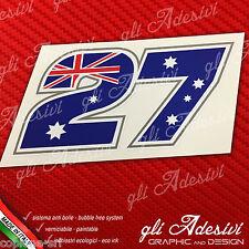 Adesivo Stickers STONER 27 2011 Replica logo